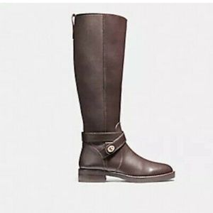 Coach Turnlock Boots